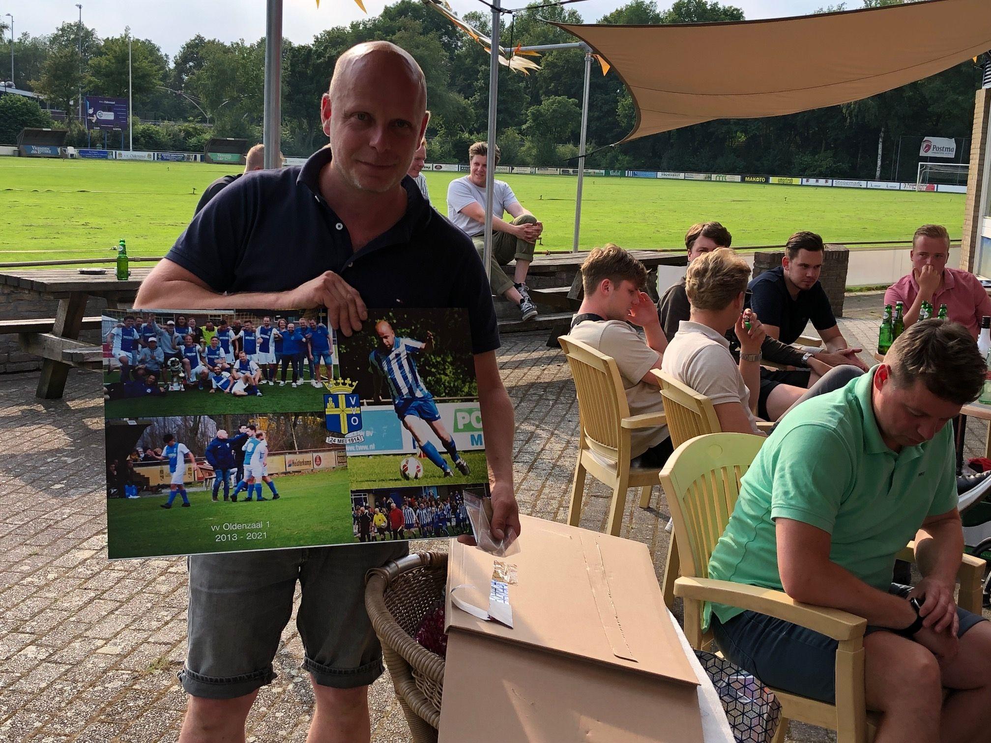 Afscheid hoofdtrainer Joost klein Buursink