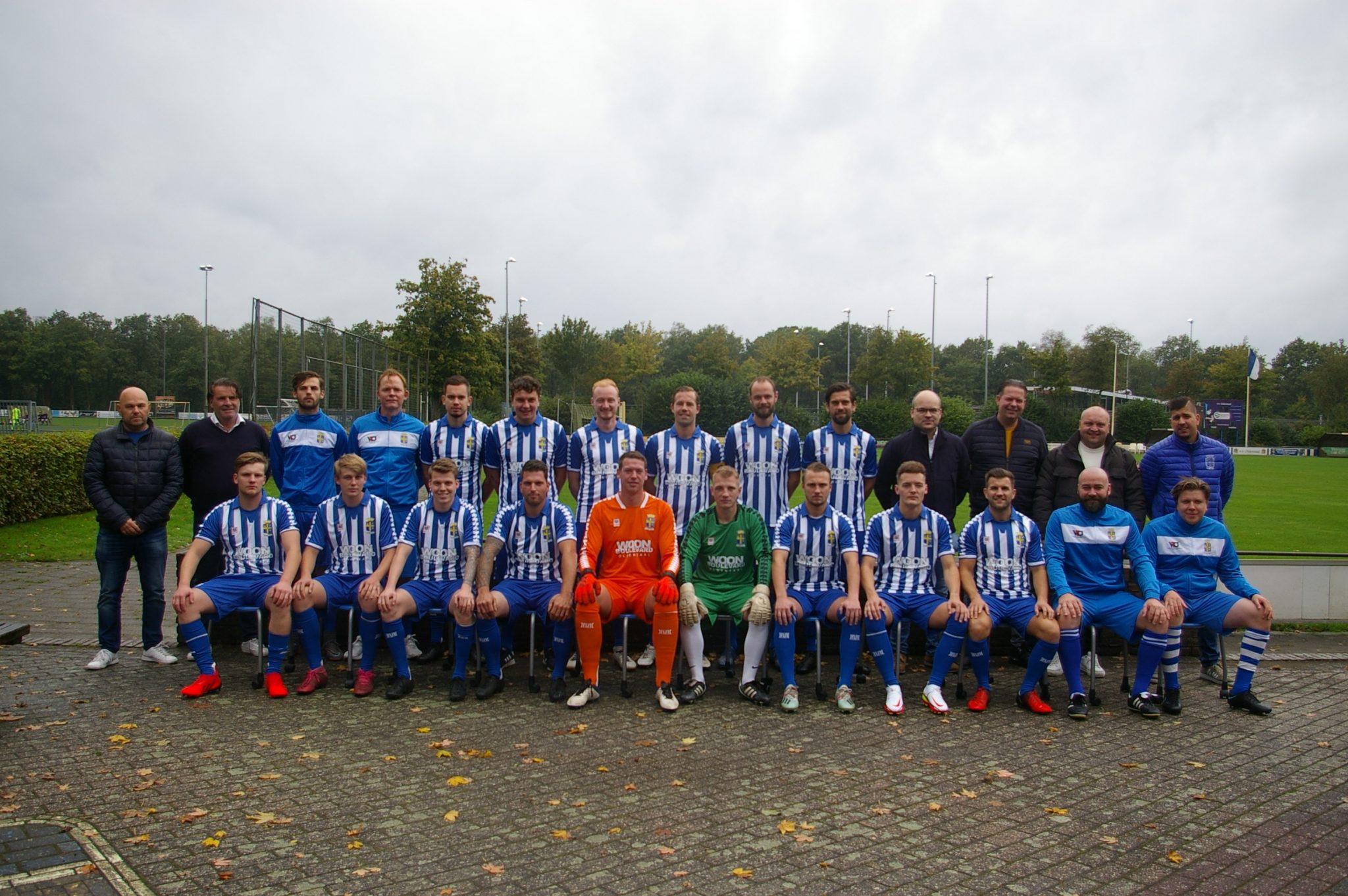 Nieuwe shirts en sponsoren eerste elftal