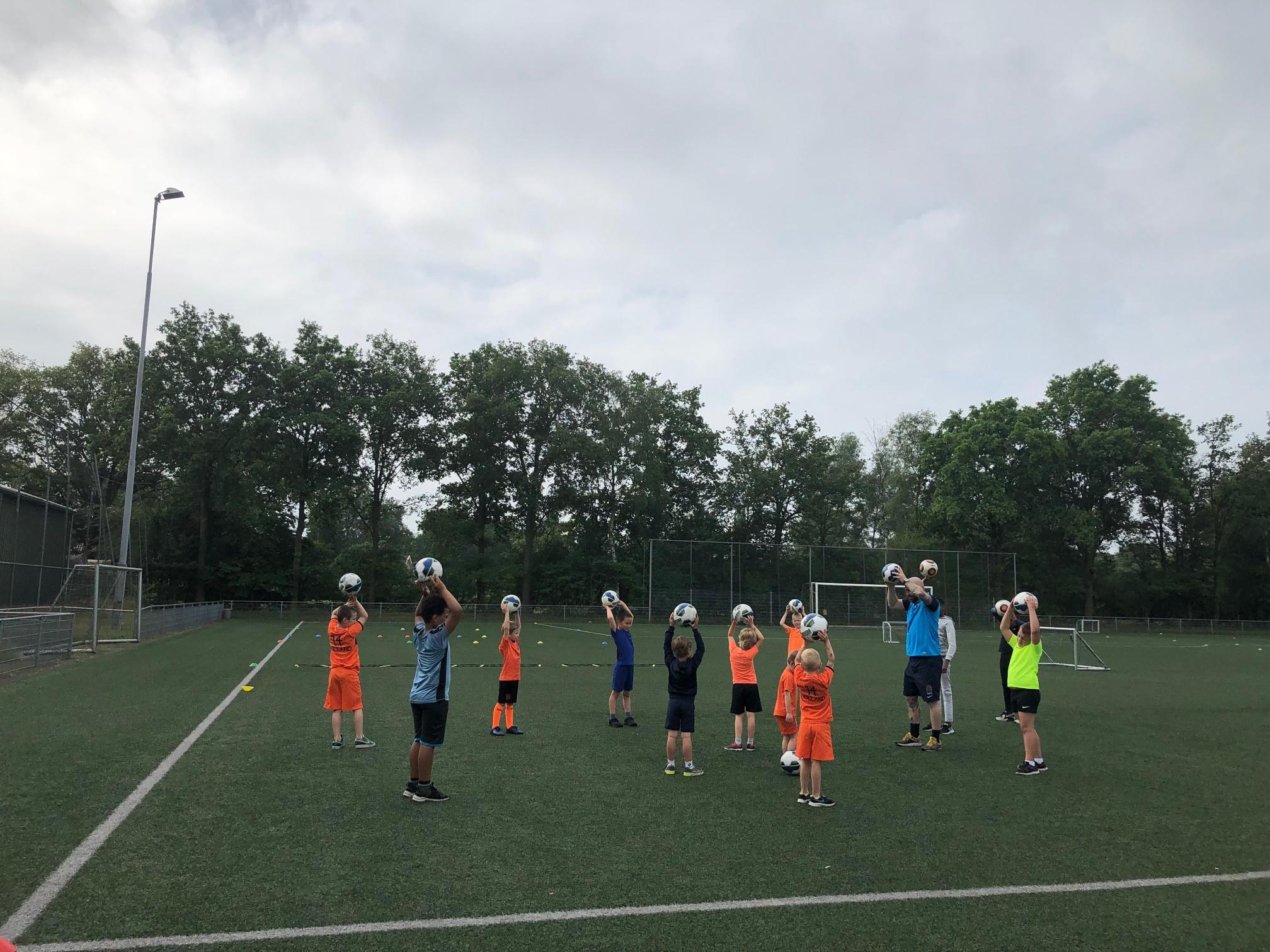 Sporten, springen en stormen 5